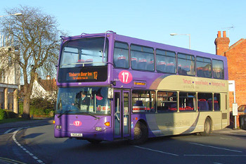 Reading Buses Number 17